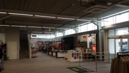 Golfcenter winkelruimte Wevelgem